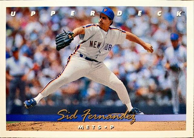 MLBカード 93UPPERDECK Sid Fernandez #361 METS