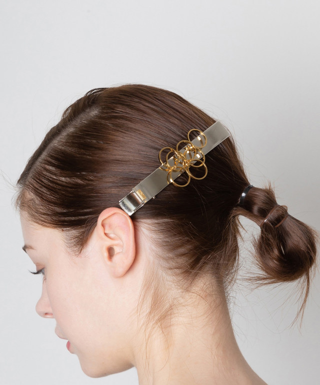 Joe19AW-14 circle random long clip (gold)