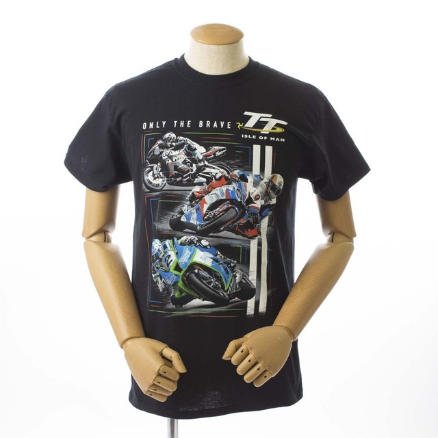 TT Only The Braave Tee Black