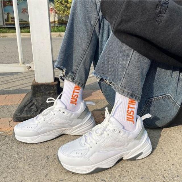 Simple design dad sneakers LD0493
