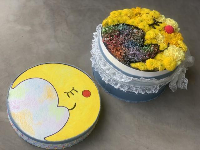 DODO'S ORIGINAL BOX FLOWER ARRANGEMENT