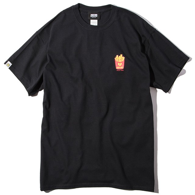 Deviluse(デビルユース) | Fries T-shirts(Black)