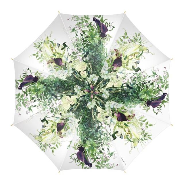 【受注生産】柘植彩子オリジナル雨傘「永遠の愛を誓った日」