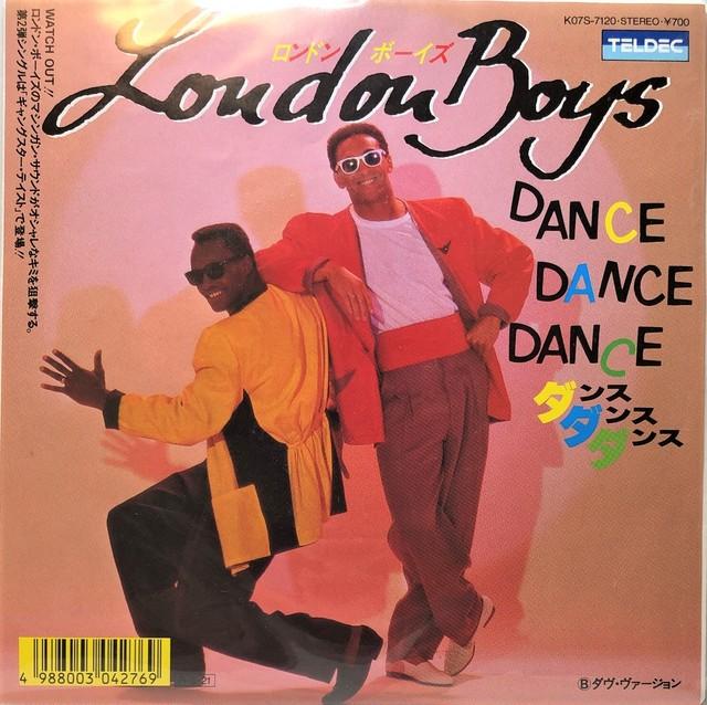 [中古7inch]   London Boys – Dance, Dance, Dance