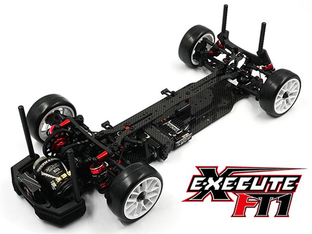 【SALE 送料無料】Xpress Execute FT1 1/10 Competition FWD Touring Car Kit (弊社オリジナルFRPバンパー付き)