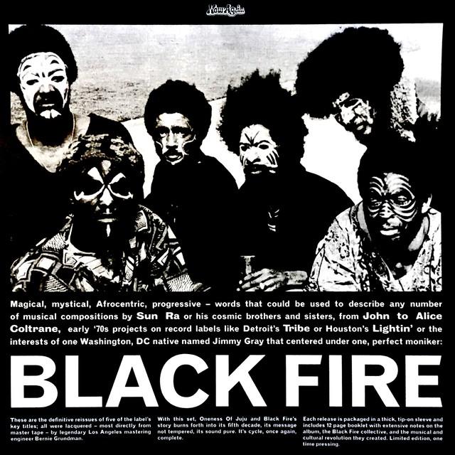 【ラスト1/LP BOX】V.A. - Black Fire