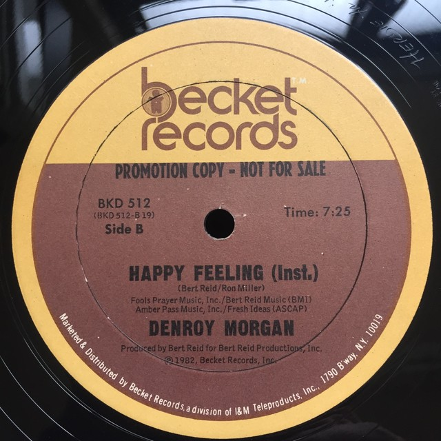 Denroy Morgan ‎– Happy Feeling