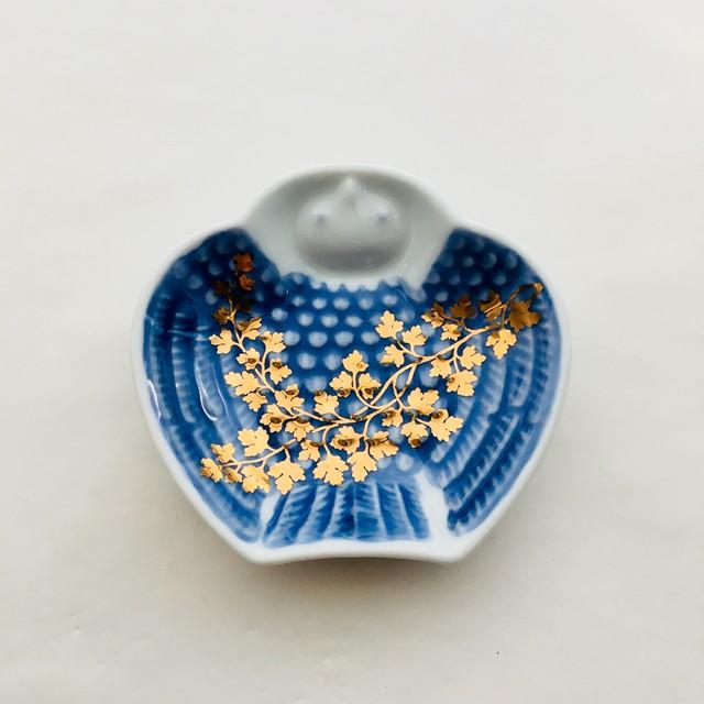 豆皿 脹雀形皿