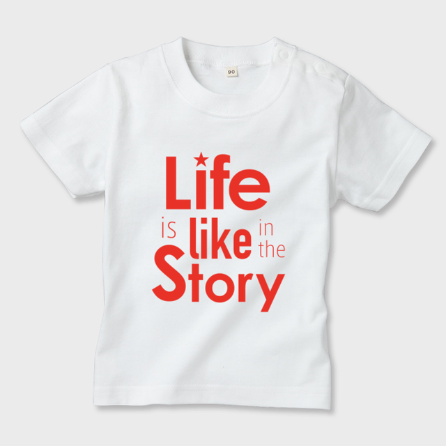 Life is like in the story~白×レッド~【キッズ】