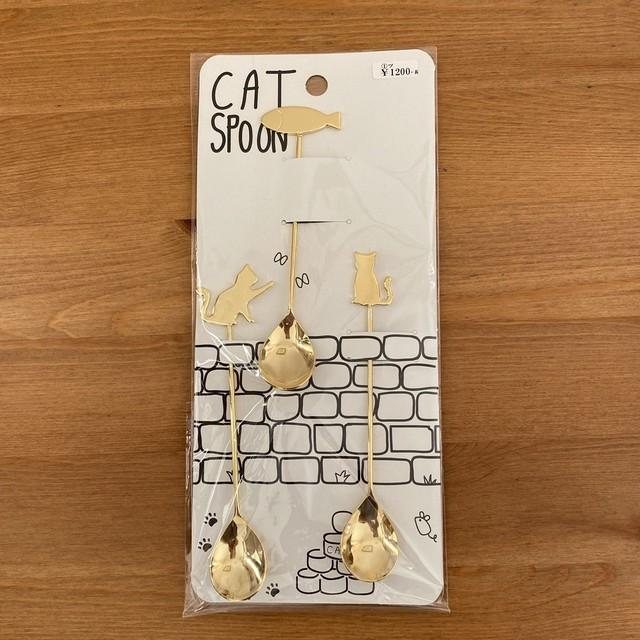 キャットスプーンcat spoon(燕市製)