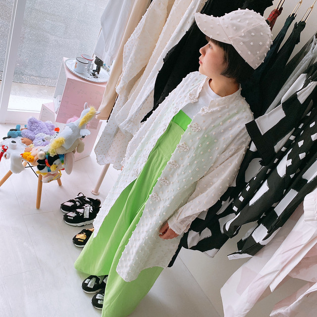 BONBON CUT JQ CHINA LONG SHIRT / LL