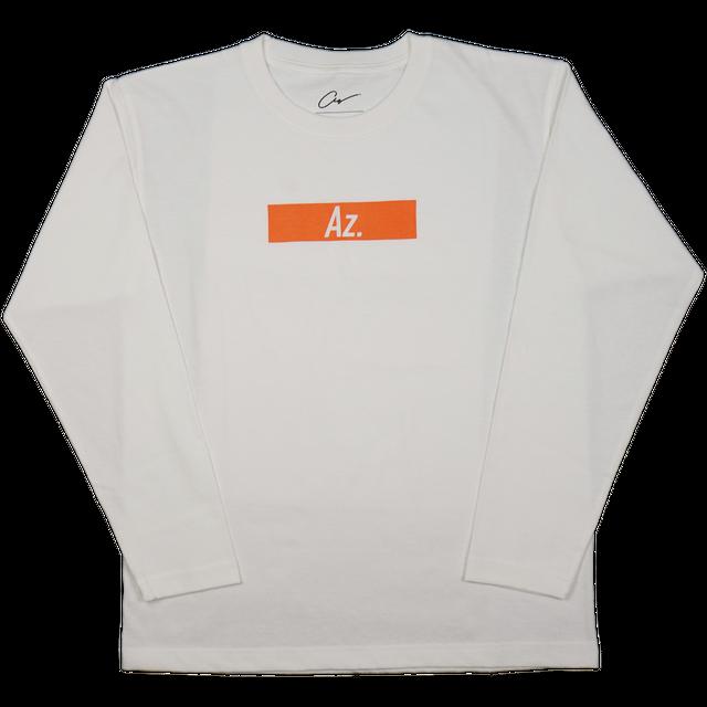 【Az.】ロゴTシャツ(ロング)<ホワイト>