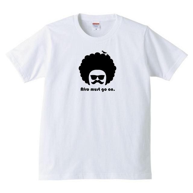 Afro night white