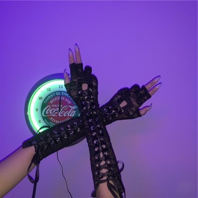 【小物】個性派ストリート系シンプル韓国系INS手袋41929136