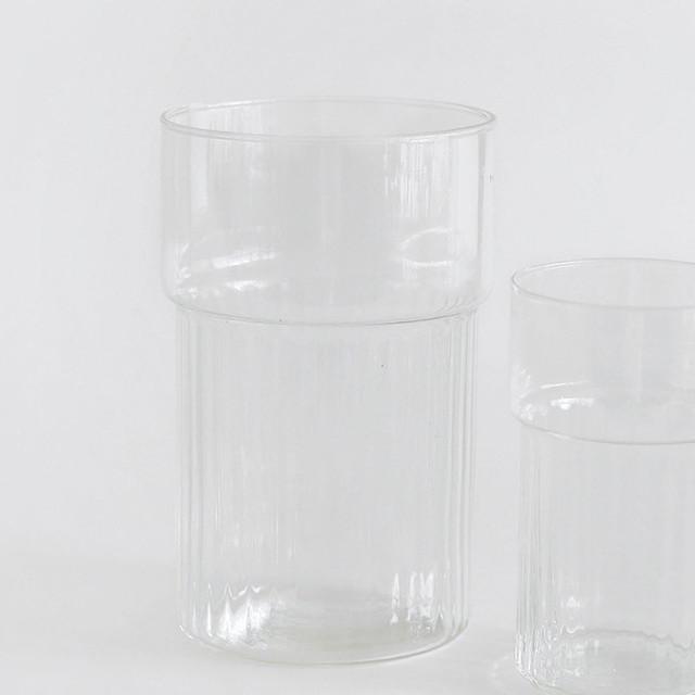 リューズガラス  フラワーベース マルシュ L