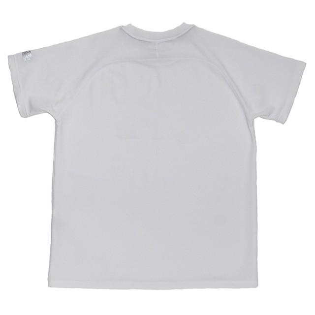 ミストラル ユニセックス【HP-DRY(ハイドロフォビックドライ)半袖 T シャツ - ミストラル スカイ -】WHITE