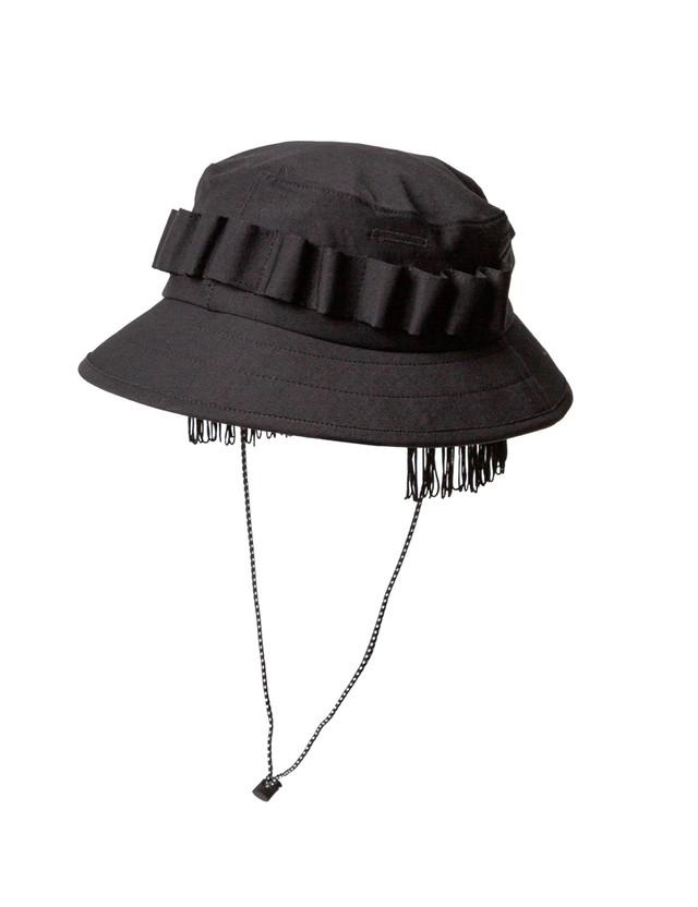 Sasquatchfabrix. / FRINGE JUNGLE HAT(BLK)