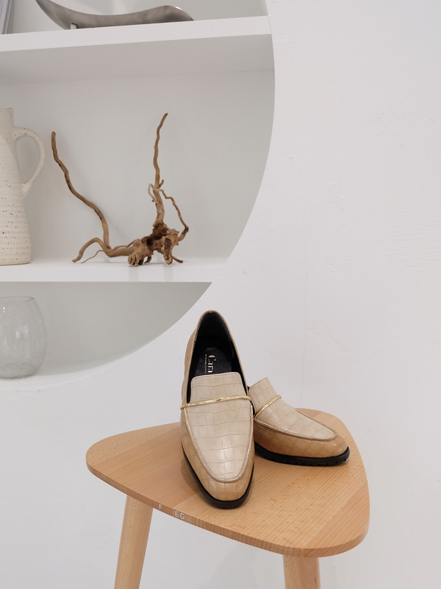 classic loafer(ivory)