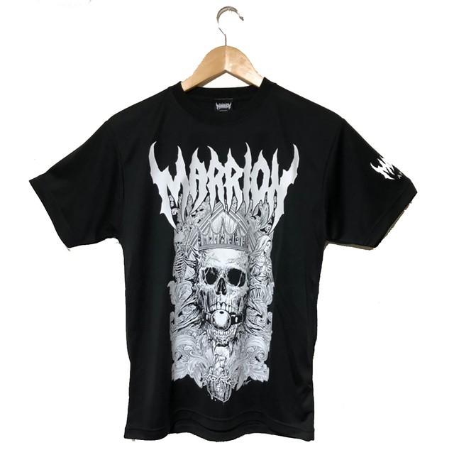 【Cotton100%】DEATH MARRION TEE 2020 (Black×White)