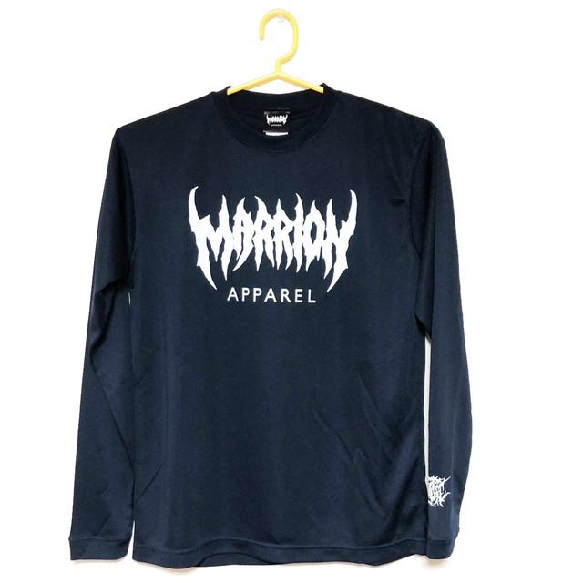 【DRY】MARRION APPAREL DRY LONGSLEEVE (Navy)