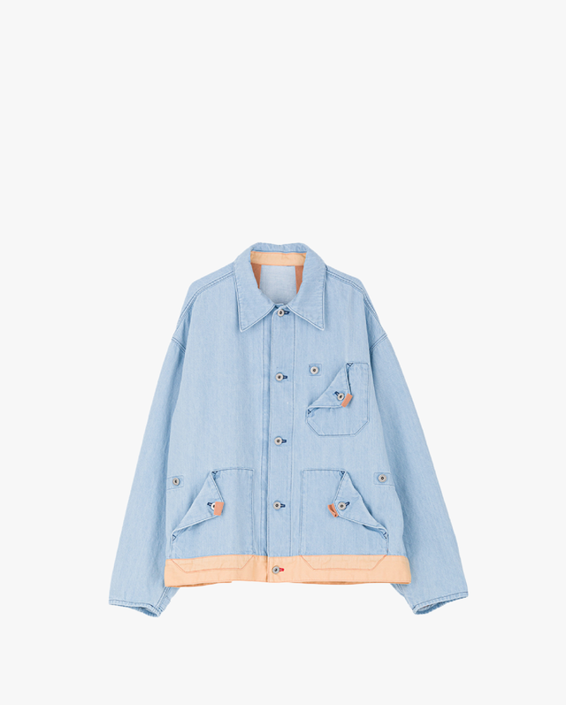 PHINGERIN SCOUTY COVERALL  SAX BLUE
