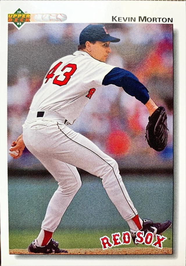 MLBカード 92UPPERDECK Kevin Morton #676 RED SOX