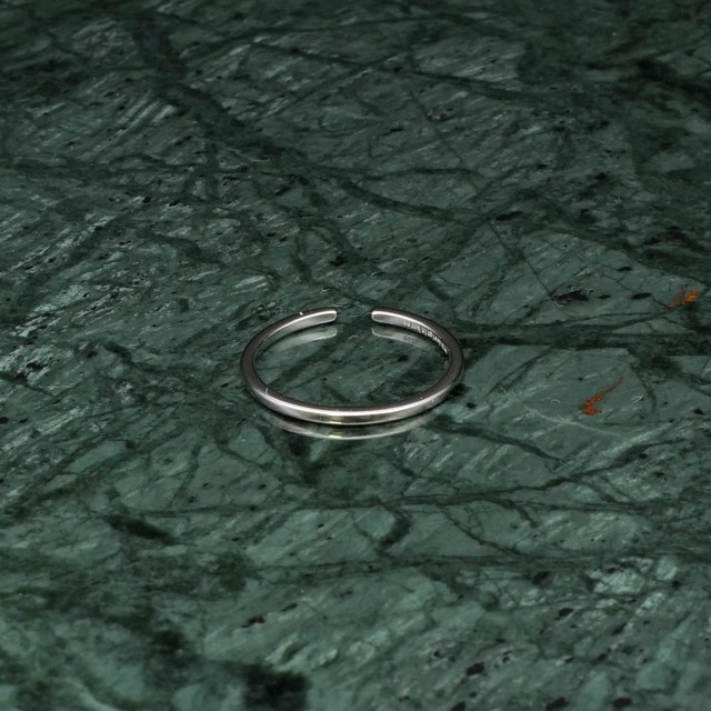 S925 SIMPLE THIN RING SILVER