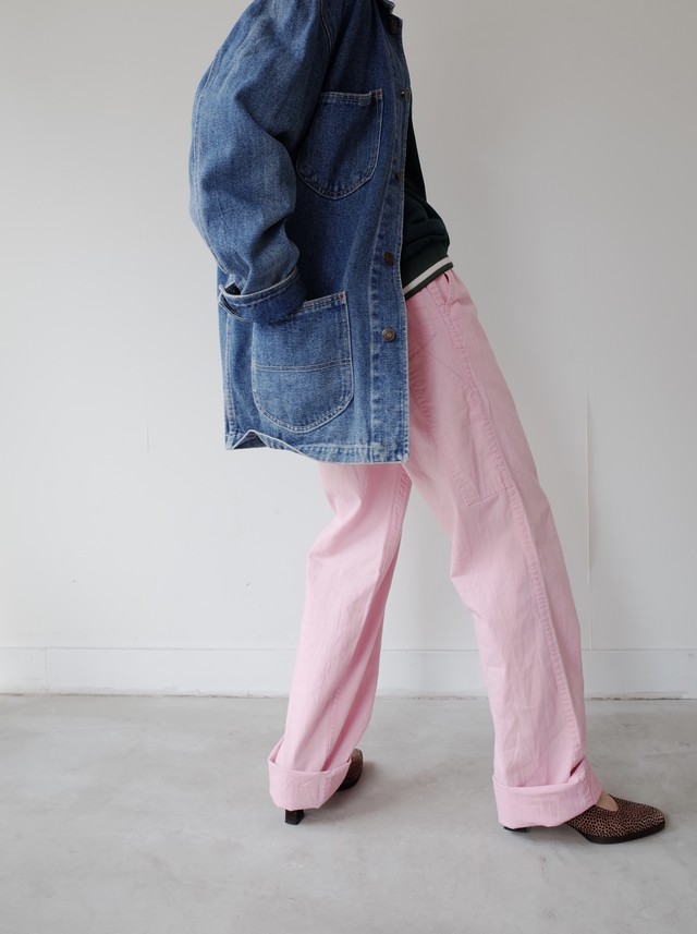 used painting pants ( pink )