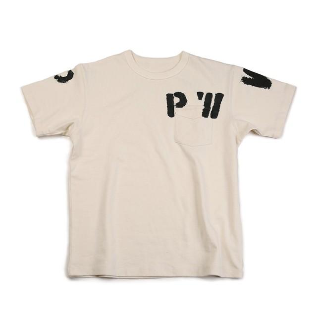 PW short-sleeved pocket T-shirt