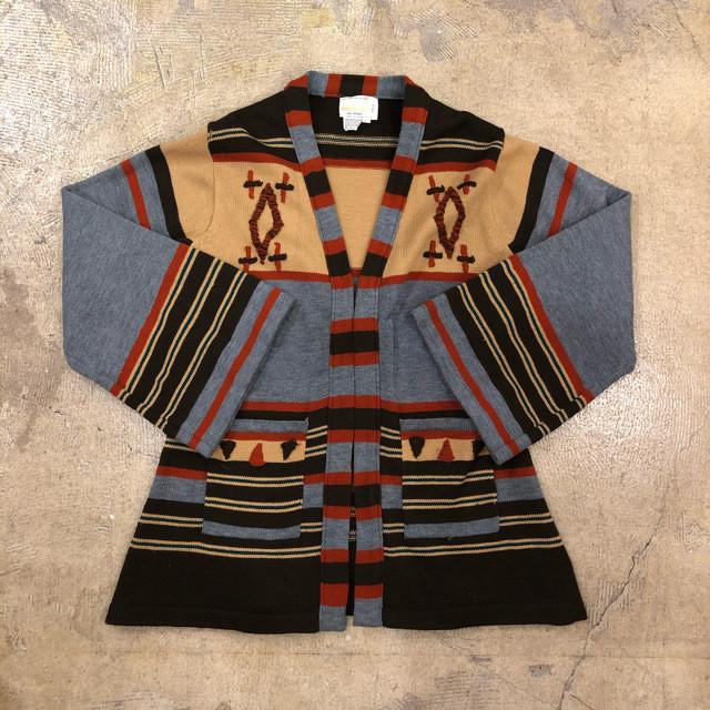 Vintage Flare Sleeve Cardigan ¥6,400+tax