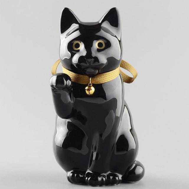 へそくりの招き猫 壱号黒 / Manekineko Bank First Model Black
