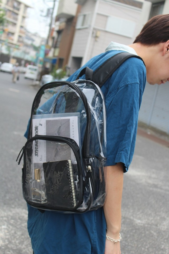 Clear BackPack