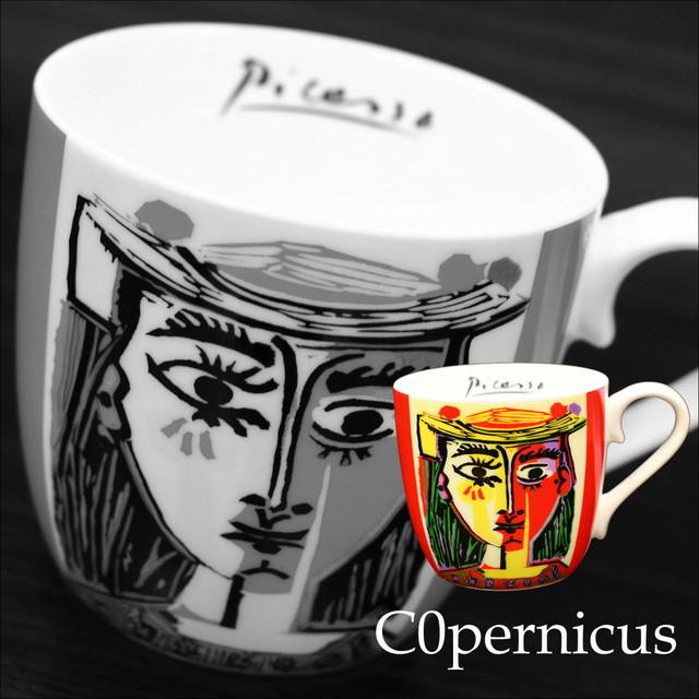 Picasso Corrida 帽子の女【artマグカップ】   浜松雑貨屋C0pernicus