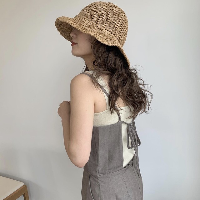 Back open one-piece
