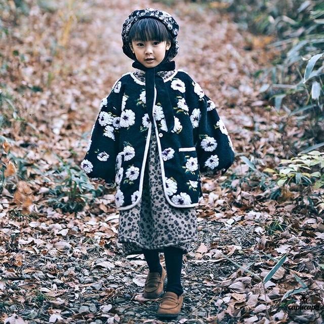 «即納» flower jacket フラワージャケット