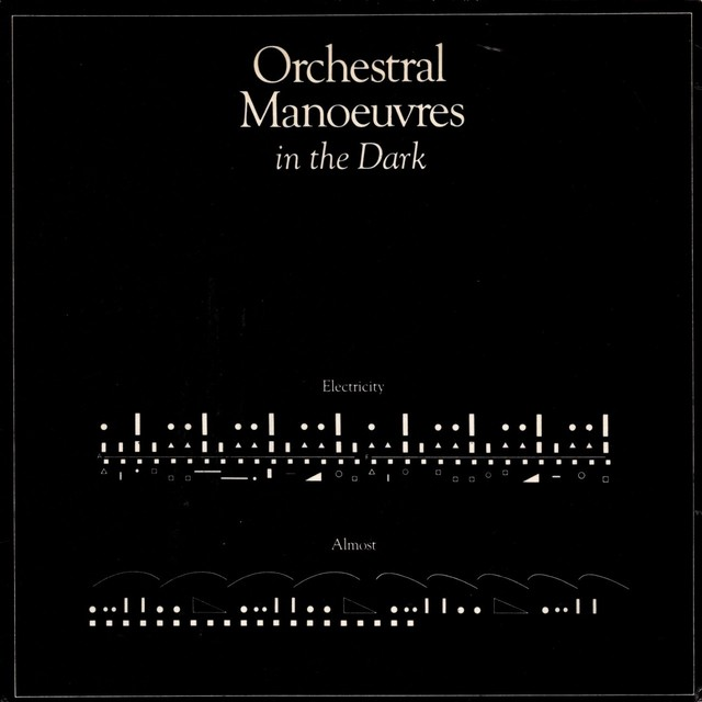 【7inch・英盤】 Orchestral Manoeuvres In The Dark  /  Electricity ・ Almost