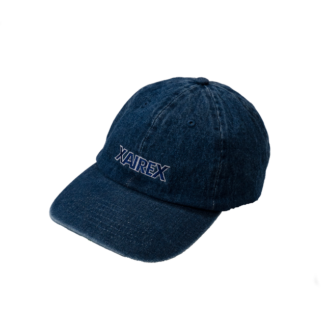 """XAIREX DENIM CAP """"RIGID DENIM""""[XAI-53]"""