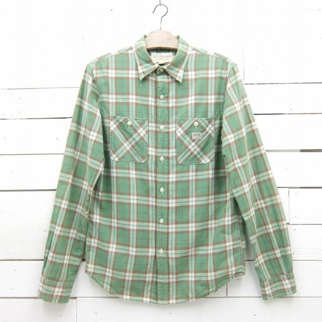 Denim & Supply デニム&サプライ ラルフローレン 長袖 ロングスリーブ チェックシャツ メンズ Sサイズ