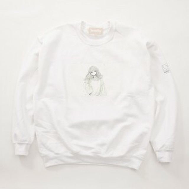 FUSEMACO HOODIE SWEAT - WHITE