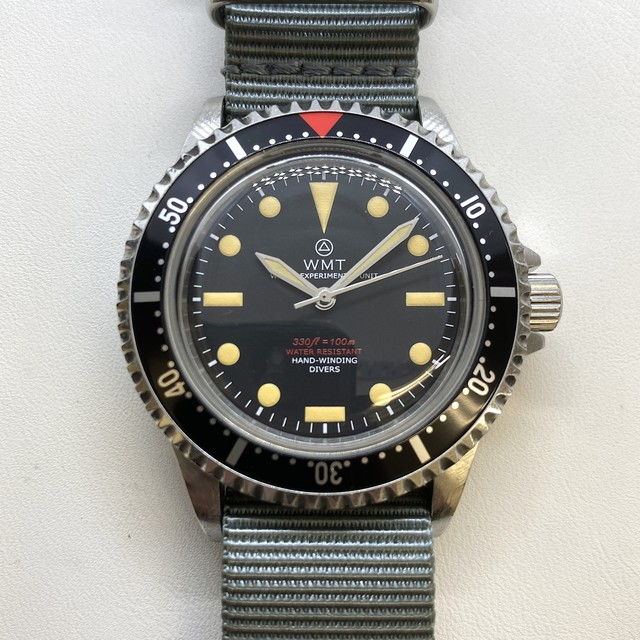 W.MT WATCH  ROYAL MARINE FROGMAN SCUBA (AGED CASE) WMT145-05