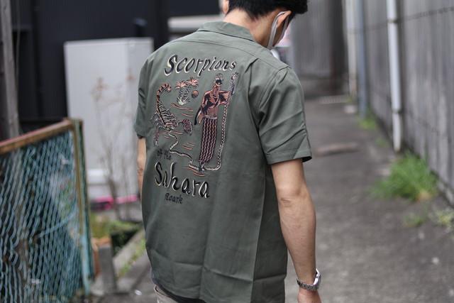"ROARK REVIVAL/ロアークリバイバル ""Scorpion of the sahara"" オープンカラーシャツ"