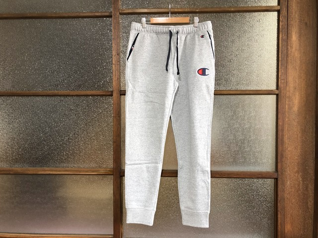 CHAMPION SWEAT PANTS  (HEATHER GREY)