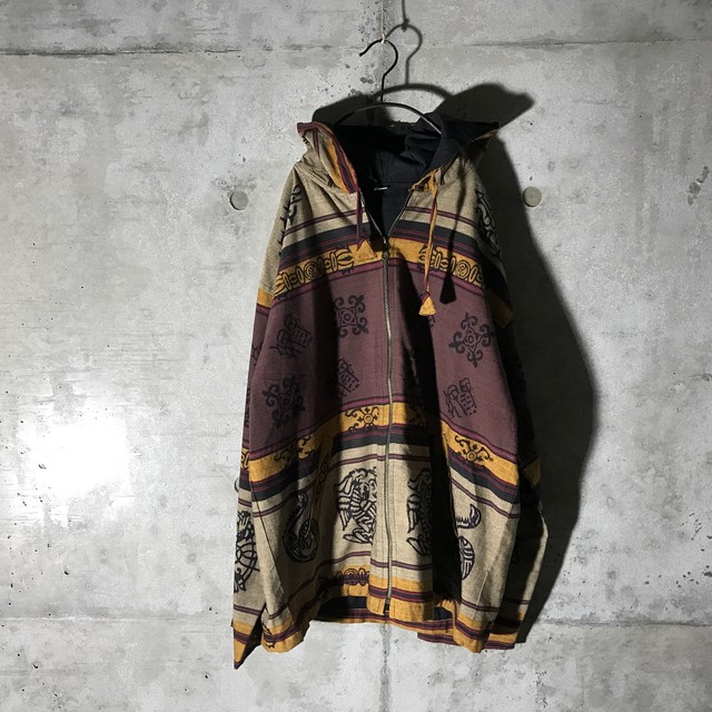 [used] ethnic designed jacket