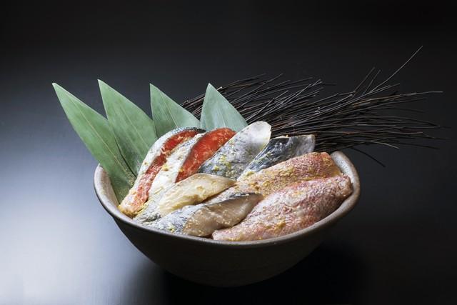 美喜仁8種の漬け魚セット
