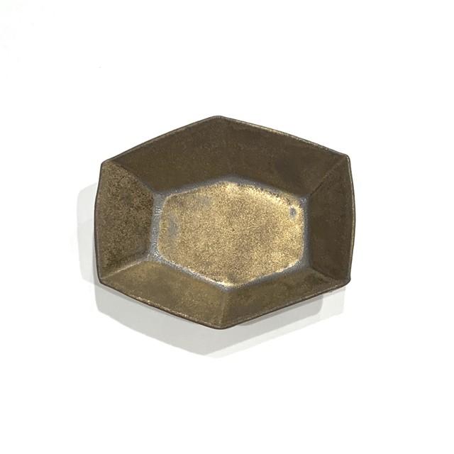金泥  六角小鉢
