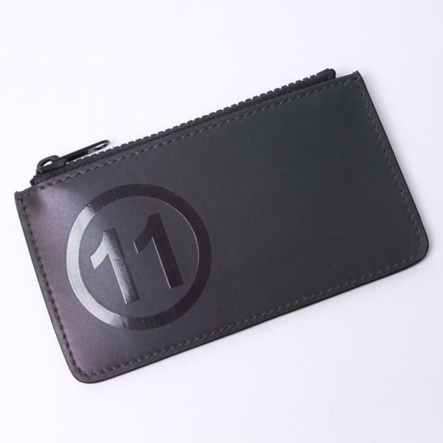 Maison Margiela(メゾン マルジェラ) 財布 コインケース カードケース ミニ財布 コンパクト財布 ブラック レザー S55UA0023 PS764 T8013 r013734