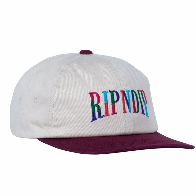 RIPNDIP リップンディップ color block two tone hat