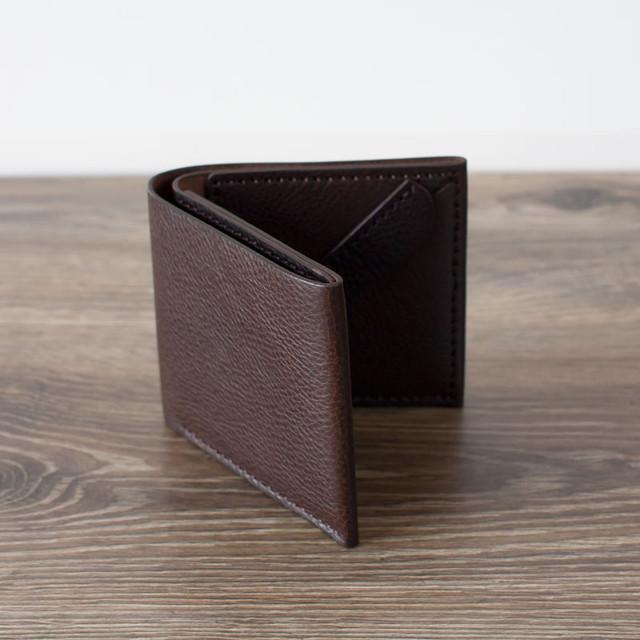 シンプル二つ折り財布 /全3色
