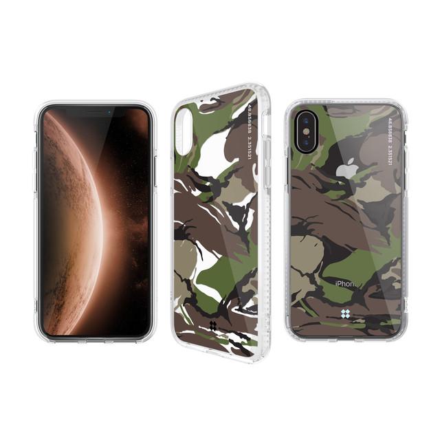 CaseStudi ケーススタディ iPhone Xs / X / XR / Xs Max  PRISMART Case 2018 カモフラ 迷彩 ミリタリー アーミー Camo Wood 耐衝撃 ケース 国内正規品