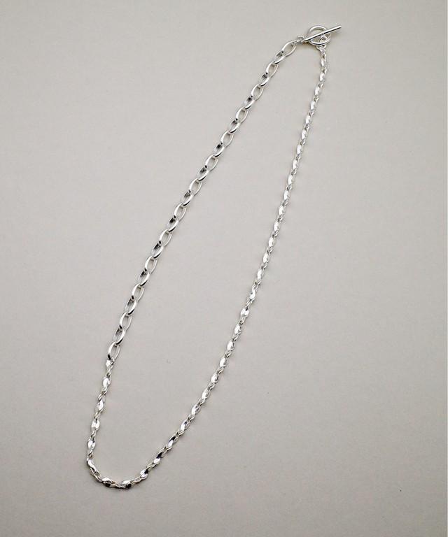 【ISOLATION / アイソレーション】SV925 Twist Mix Chain Necklace